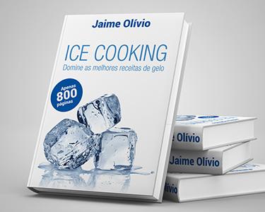 Livro «Ice Cooking» | As Melhores Receitas de Gelo em apenas 800 pág.