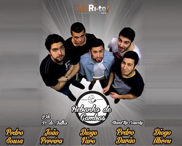 «Rebanho de Gambas» | Stand Up Comedy | Villari-Te | 2 Pessoas