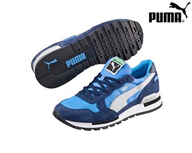 Ténis Puma® RX 727 Azul e Branco | Homem