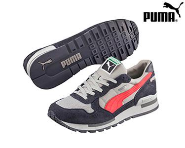 Ténis Puma® RX 727 Cinza e Salmão | Homem