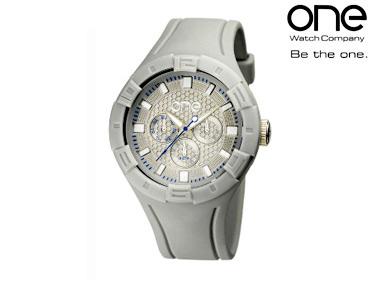 Relógio One® | Colours Blur Silver