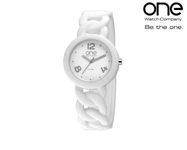 Relógio One® Colours Chain | Branco