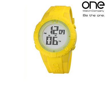 Relógio One® | Senhora Digi Amarelo