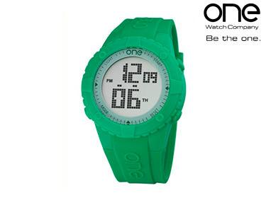 Relógio One® | Senhora Digi Verde