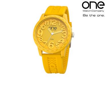 Relógio One® Scan | Amarelo