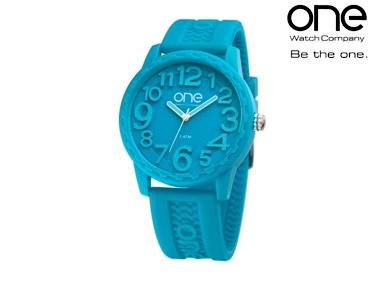 Relógio One® Scan | Azul Turquesa
