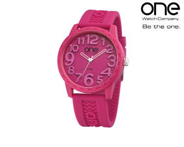 Relógio One® Scan | Rosa Velho