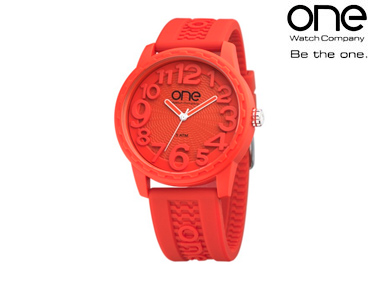Relógio One® Scan | Vermelho