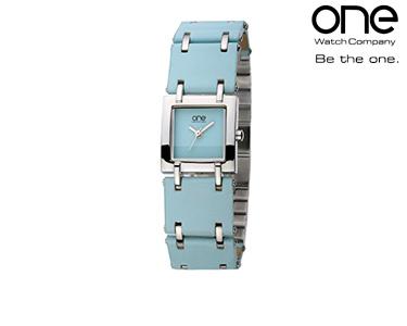 Relógio One® Azul e Prata | Senhora