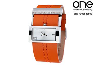 Relógio One® Laranja | Senhora