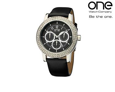 Relógio One® Shine Preto   Senhora