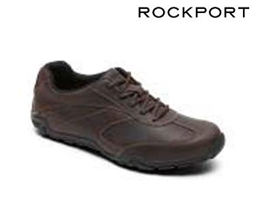 Sapatos Rockport® T-Toe | Castanho Escuro
