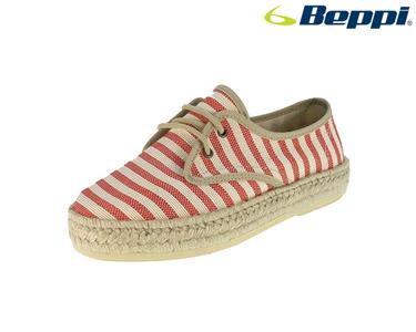 Sapatos Casuais Beppi®   Vermelho e Branco