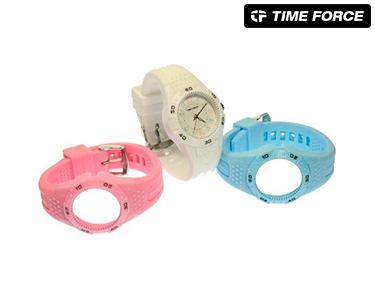 Conjunto Time Force® Criança | Relógio e 2 Braceletes