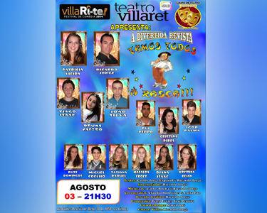 «Tamos Todos à Rasca» | A Divertida Revista | Villari-Te | Teatro Villaret