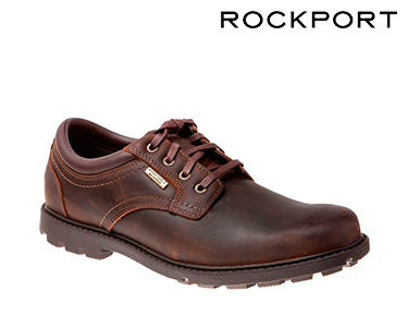 Sapatos Rockport® Rugged Bucks | Castanho
