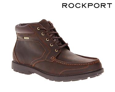 Botas Rockport® Rugged Bucks   Castanho Escuro