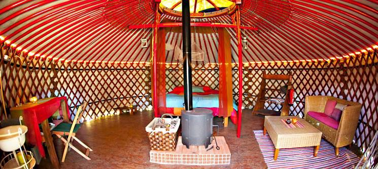 Relax & Natureza a Dois! 2 ou 3 Noites em Yurts - Odeceixe | Vida Pura