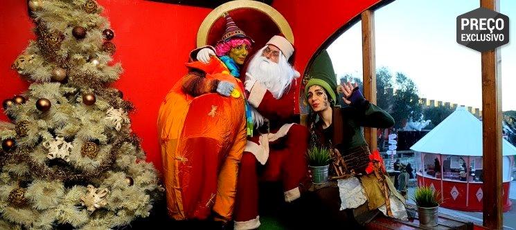 O Natal é em Óbidos! Noite Vista Mar + 2 Entradas na Vila Natal