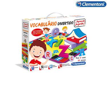 Vocabulário Divertido Clementoni® | Aprende a Jogar!