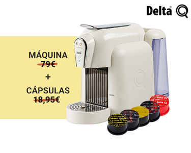 Máquina Delta Qool Auto + 50 Cápsulas