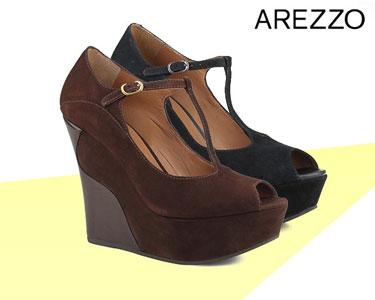 Sandálias de Inverno Arezzo® | Castanho ou Preto