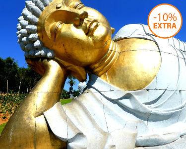 Escapadinha Zen: Noite no Vale Grande Hotel c/ Entradas no Buddha Eden