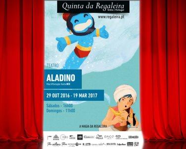 Espectáculo Infantil «Aladino» | Uma História Encantada | Quinta da Regaleira