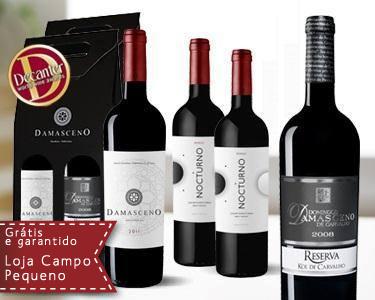 4 Vinhos Damasceno - Brinda ao Natal
