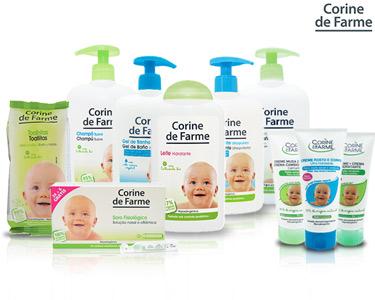 Cabaz com 10 Produtos para o seu Bebé | Corine de Farme®