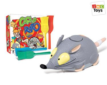 Jogo Caça ao Rato com 4 Vassouras