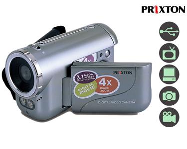 Câmara de Vídeo DV100 | Prixton