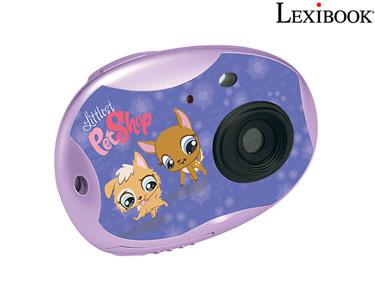 Máquina Fotográfica Lexibook® | Fotos & Vídeos das Férias! -> Escolha a sua opção -> Câmara Fotográfica - Littlest PetShop
