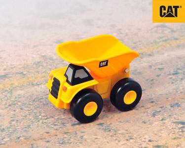 Mini Camião Construção 7 cm CAT® | Camião Carga