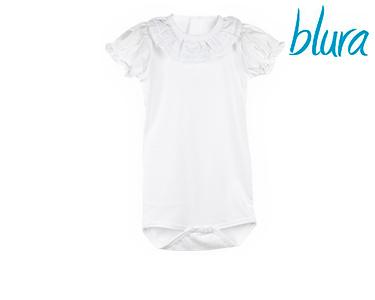 Body Branco Blura® c/ Gola Dupla | Escolha o Tamanho