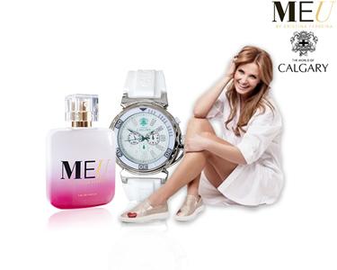 Perfume Meu by Cristina Ferreira + Relógio Calgary®