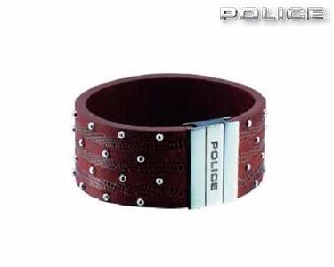 Pulseira Avenger Police® Castanha| Escolha o Tamanho