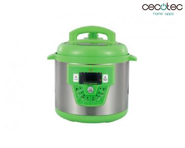 Robot de Cozinha Programável c/ 10 Funções Modelo E Verde | Cecotec®