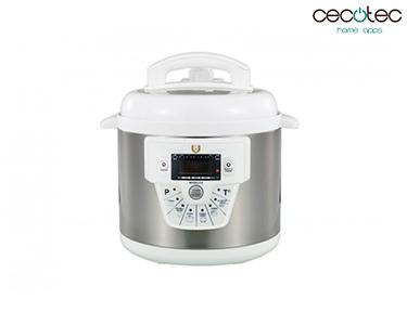 Robot de Cozinha Programável c/ 10 Funções Modelo E Branco | Cecotec®