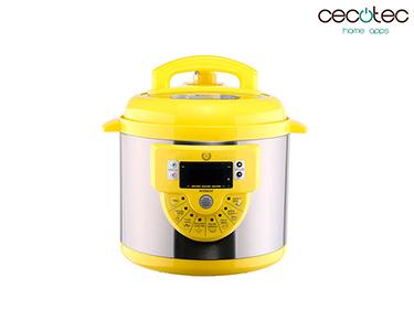 Robot de Cozinha Programável c/ 16 Funções Modelo F Amarelo | Cecotec®