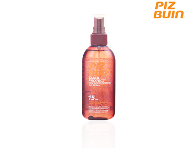 Piz Buin Tan & Protect Óleo Spray SPF15 | 150 ml
