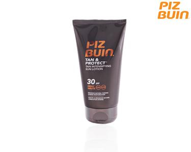 Piz Buin Tan & Protect Loção Bronzeadora e Protectora SPF30 | 150 ml