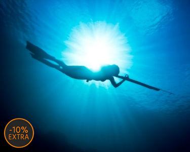Caça Submarina em Spot de Excelência | 4 Horas | Tróia ou Costa Norte do Cabo Espichel