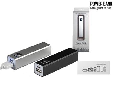 Carregador Portátil e Universal 2600 mAh | SOS Bateria