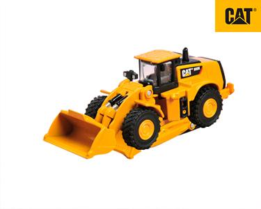 Camião Construção Metal 9 cm CAT® | Carregadora