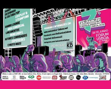 «Anicomics Lisboa 2016» Festival de BD e Cosplay | Passe 2 Dias