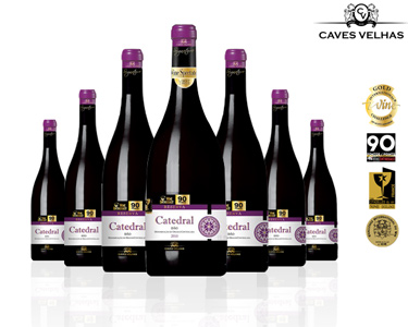 6 Garrafas de Vinho Catedral Reserva + Oferta Especial | DOC Tinto
