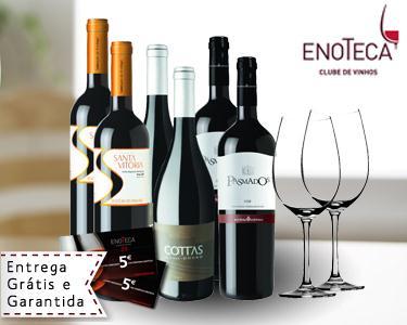 Conjunto Vinhos Regiões