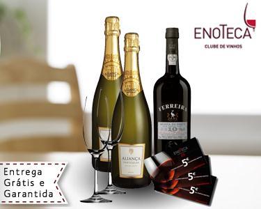 Conjunto Vinhos Celebração