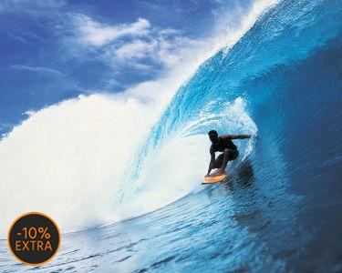 Surf no Mar de Carcavelos: 1 Hora de Aula de Grupo | Iniciação ou Aperfeiçoamento